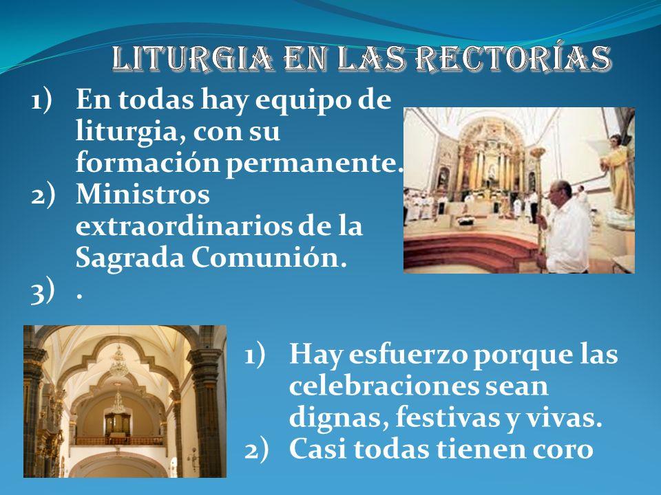 Liturgia en las rectorías