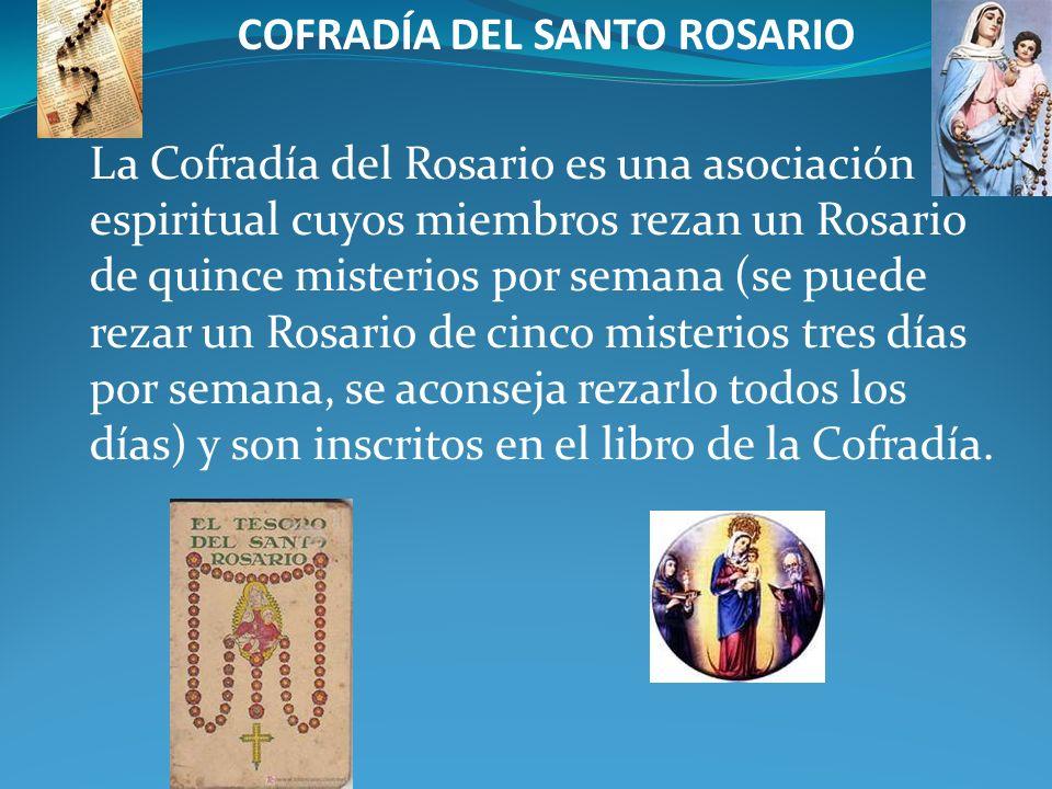 COFRADÍA DEL SANTO ROSARIO