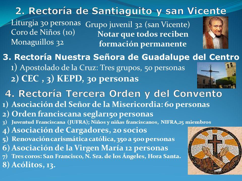 2. Rectoría de Santiaguito y san Vicente