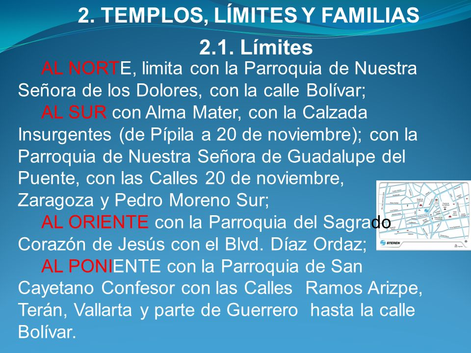 2. TEMPLOS, LÍMITES Y FAMILIAS