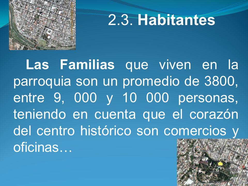 2.3. Habitantes