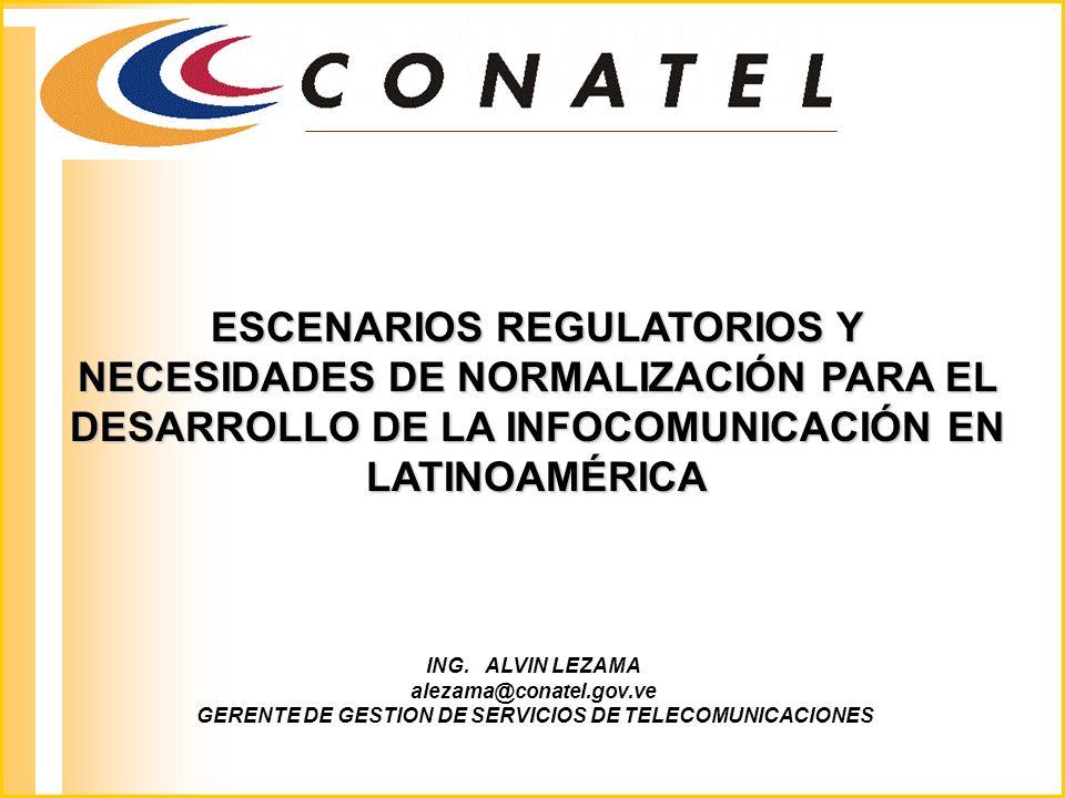 GERENTE DE GESTION DE SERVICIOS DE TELECOMUNICACIONES