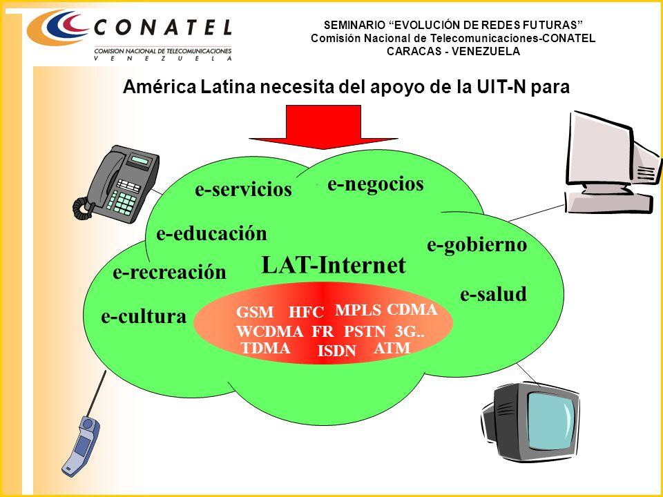 LAT-Internet e-negocios e-servicios e-educación e-gobierno