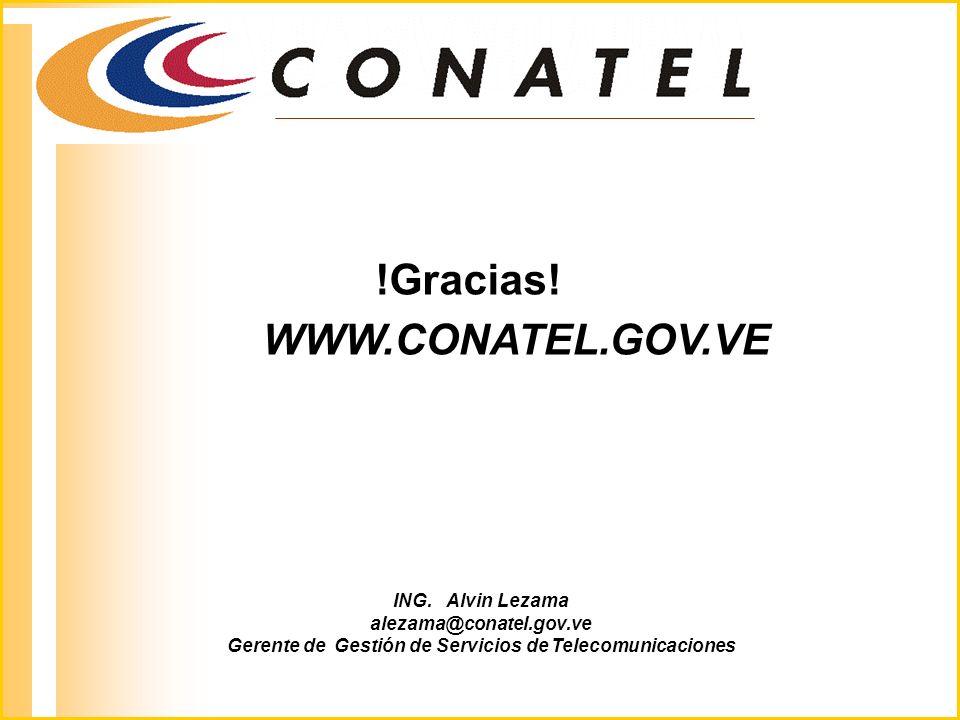 Gerente de Gestión de Servicios de Telecomunicaciones
