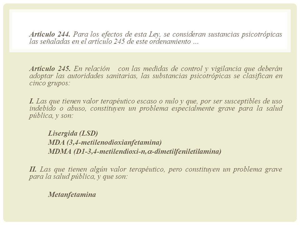Artículo 244.