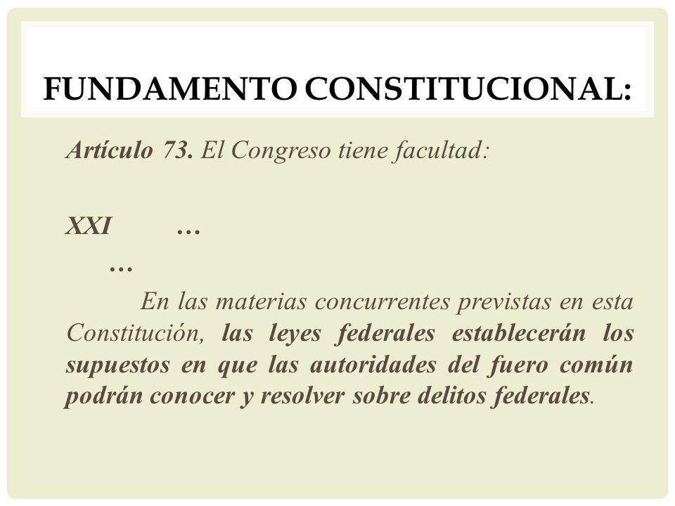 Fundamento Constitucional: