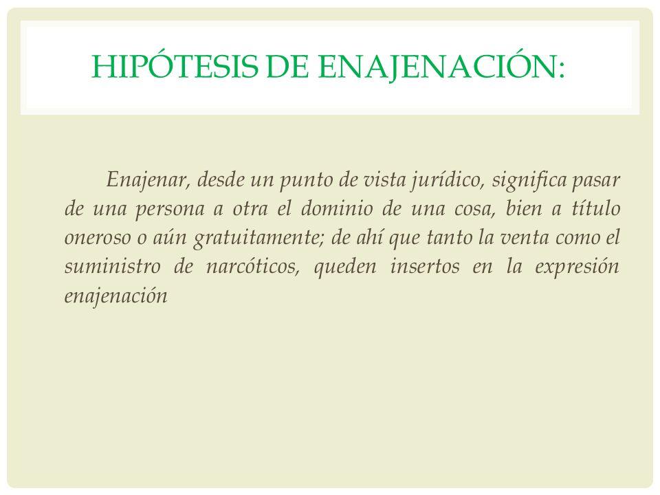 Hipótesis de enajenación: