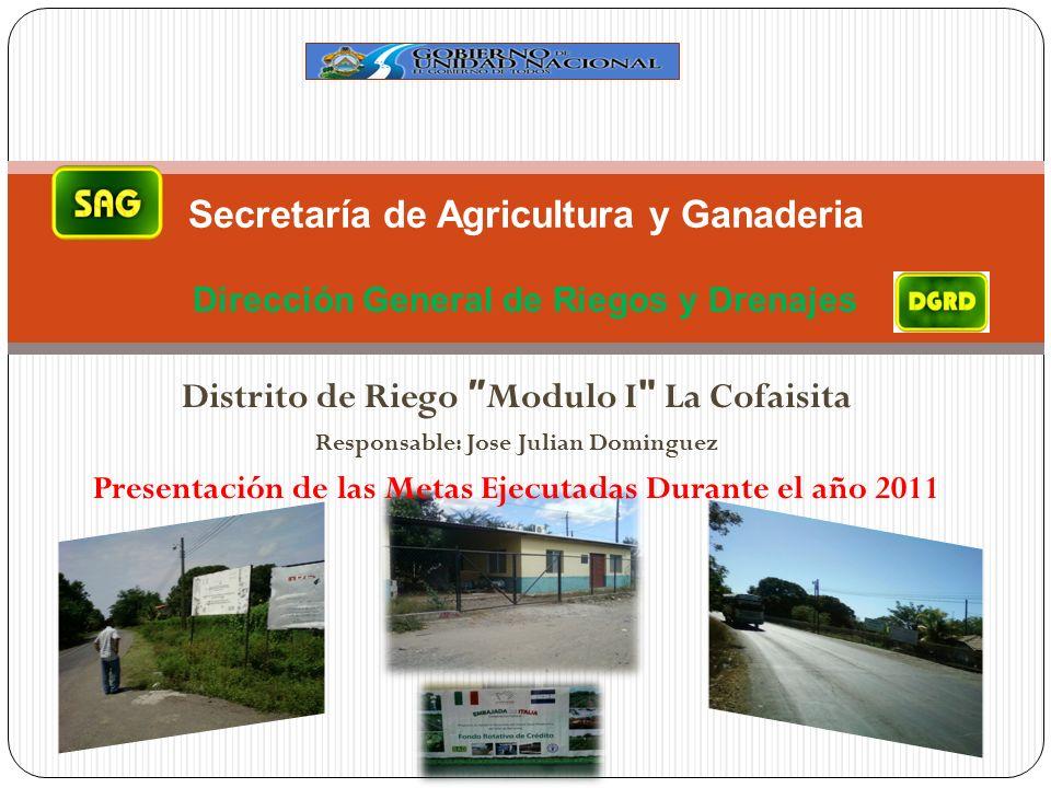 Distrito de Riego ″Modulo I La Cofaisita