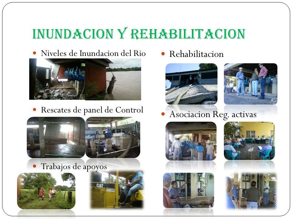 Inundacion y Rehabilitacion