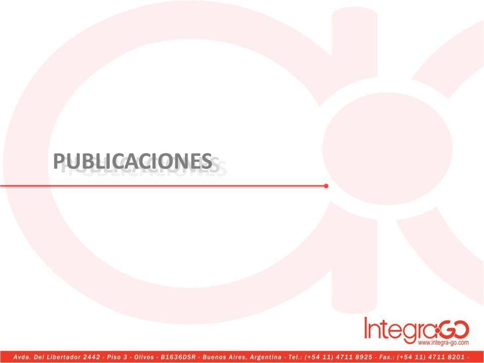 PUBLICACIONES PUBLICACIONES PUBLICACIONES