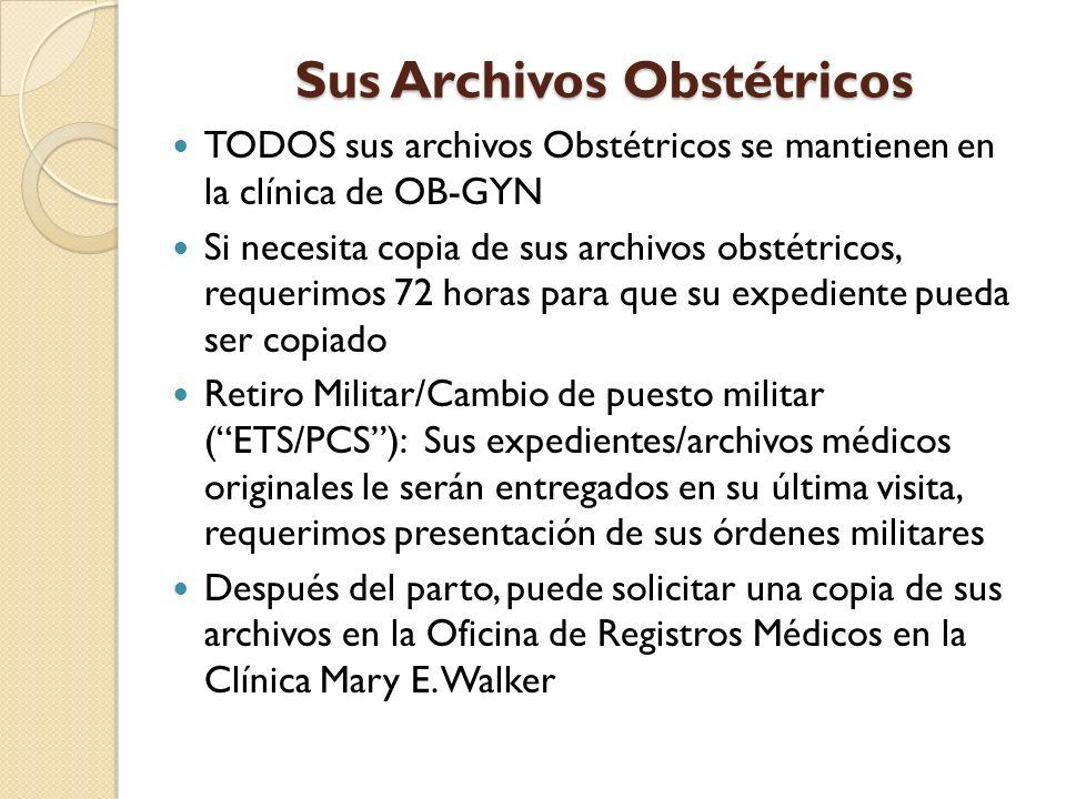 Sus Archivos Obstétricos