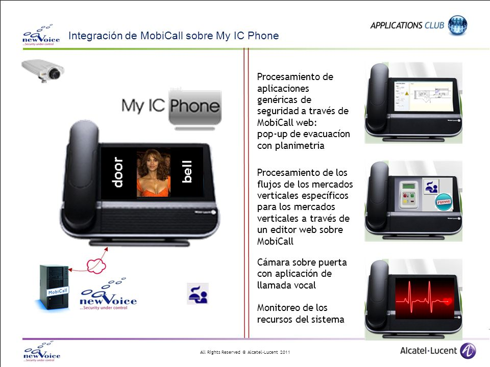 Integración de MobiCall sobre My IC Phone