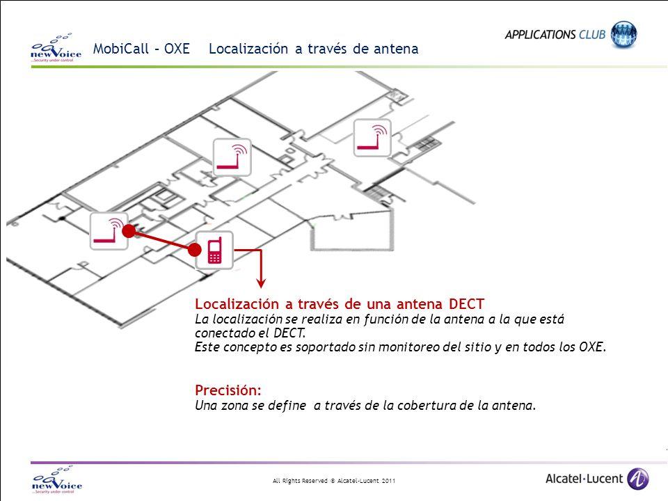 MobiCall – OXE Localización a través de antena