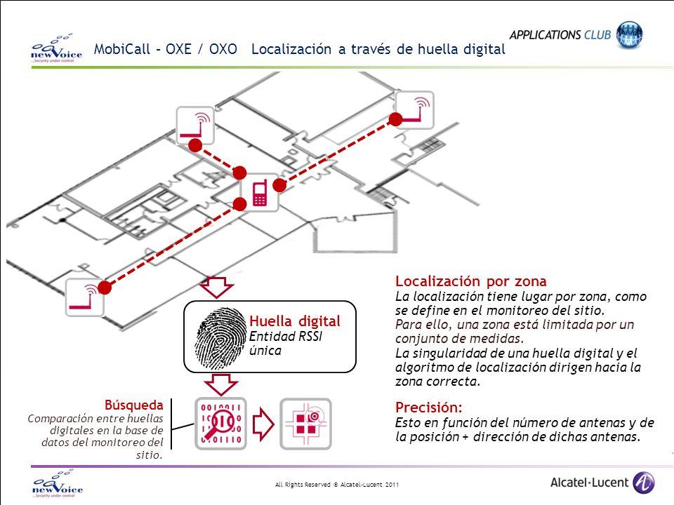 MobiCall – OXE / OXO Localización a través de huella digital
