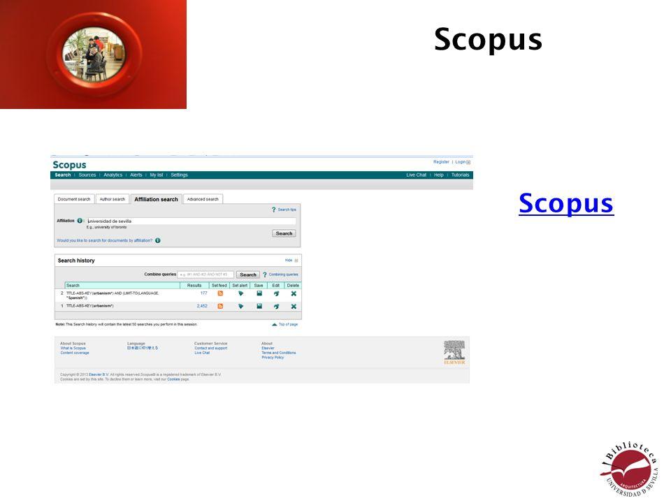 Scopus Scopus