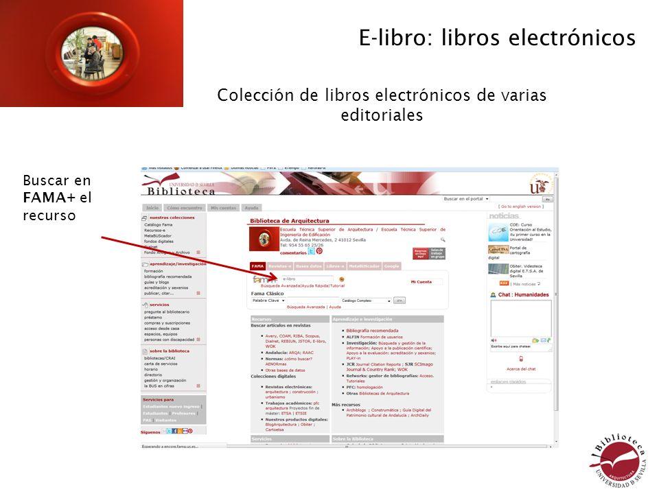 Colección de libros electrónicos de varias editoriales