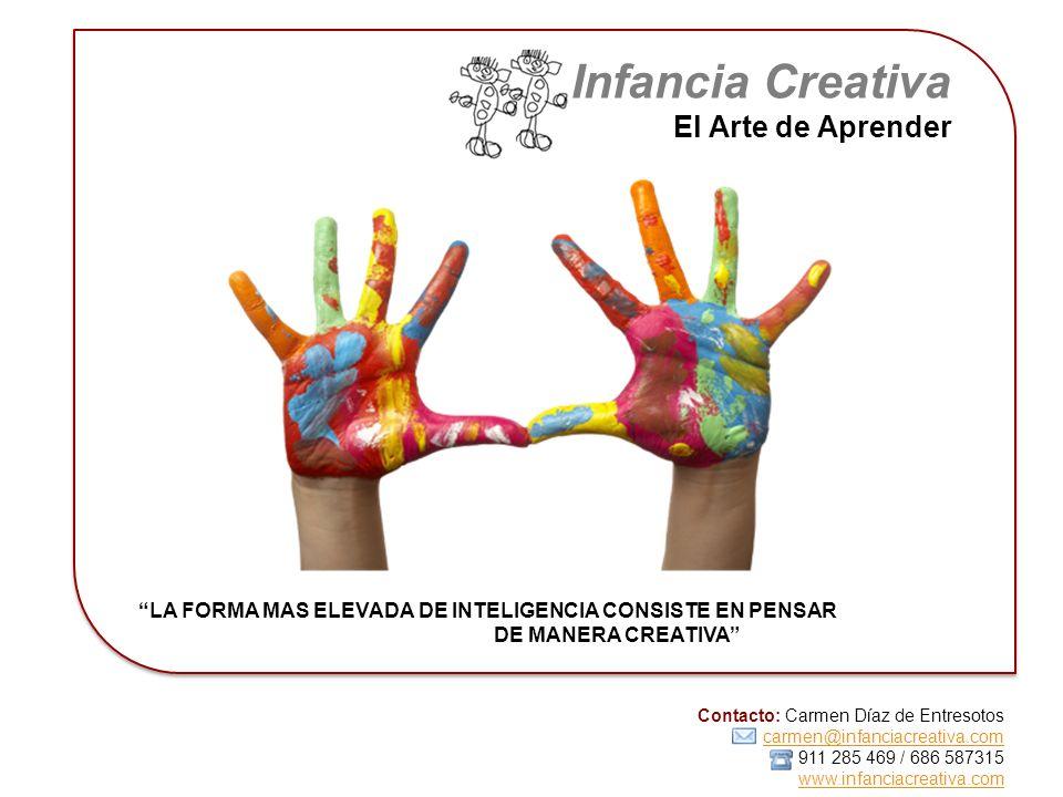 Infancia Creativa El Arte de Aprender