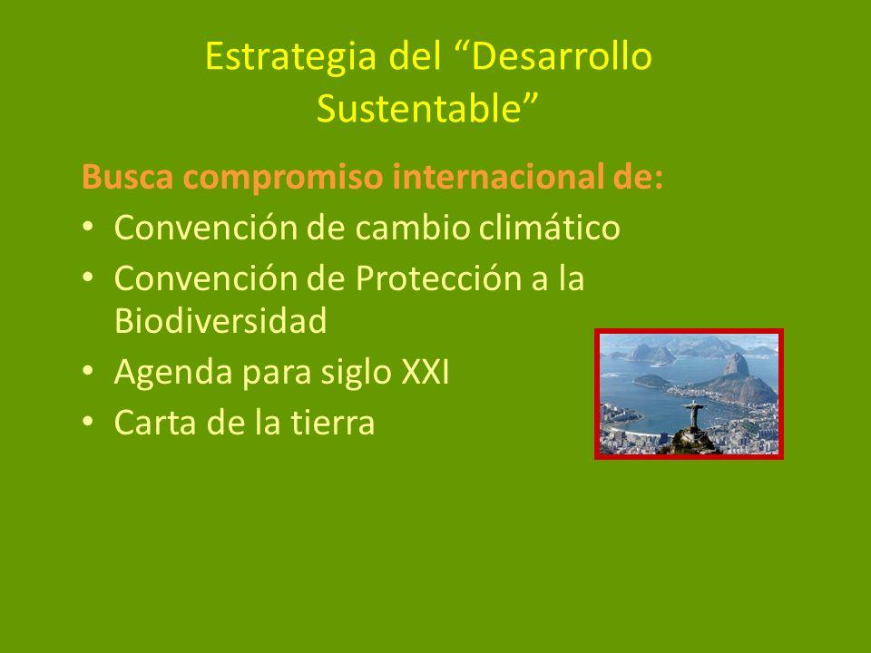 Estrategia del Desarrollo Sustentable