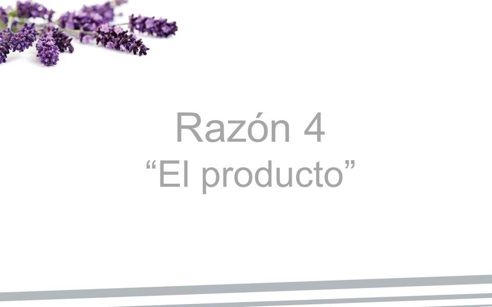 Razón 4 El producto