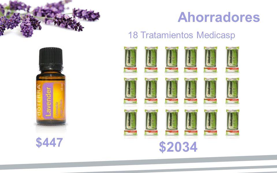 Ahorradores 18 Tratamientos Medicasp $447 $2034