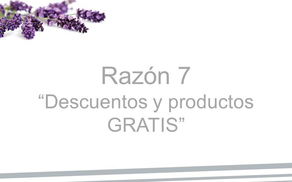 Descuentos y productos GRATIS
