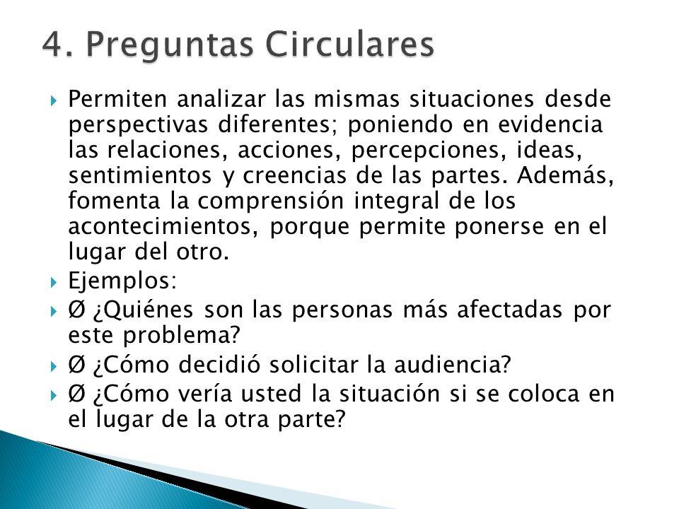 4. Preguntas Circulares