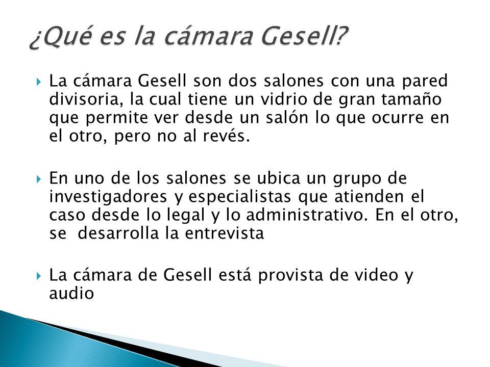¿Qué es la cámara Gesell
