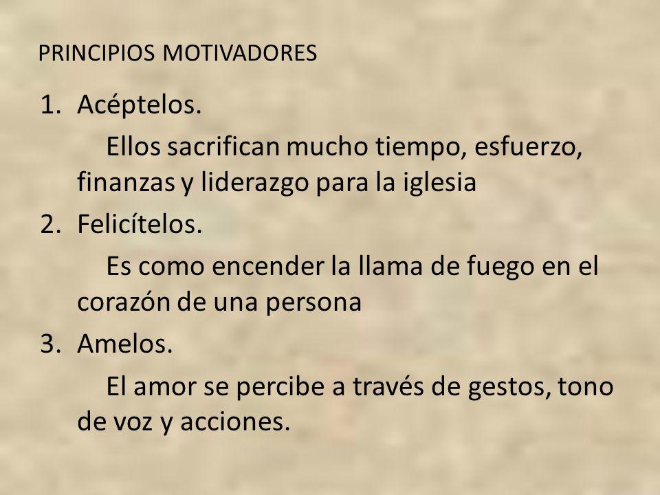 PRINCIPIOS MOTIVADORES