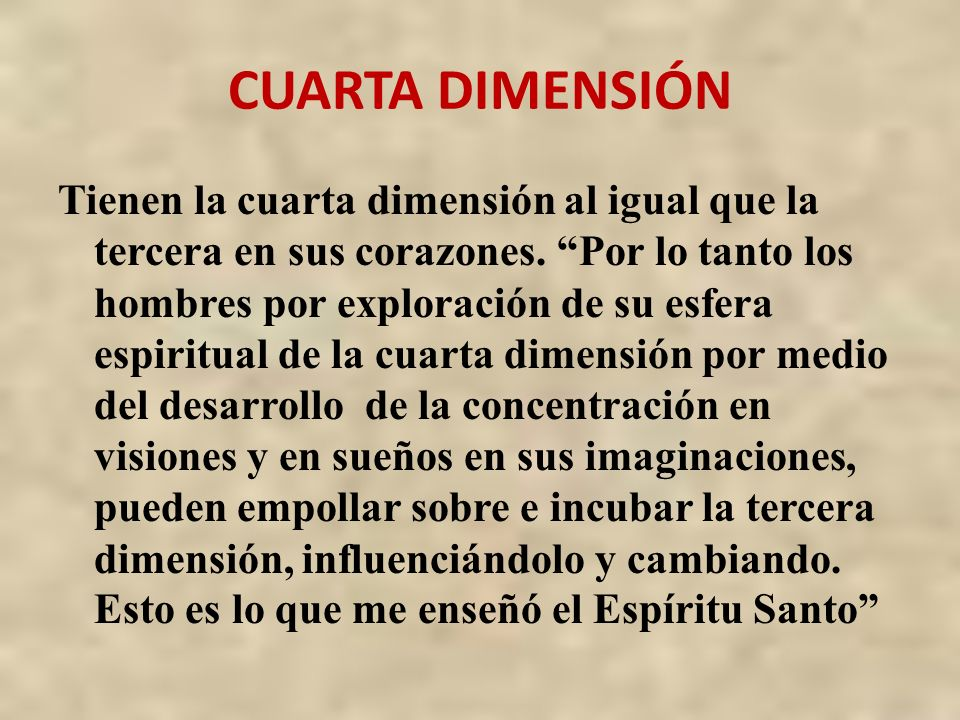 Emejing Cuarta Dimension Espiritual Photos - Casas: Ideas & diseños ...