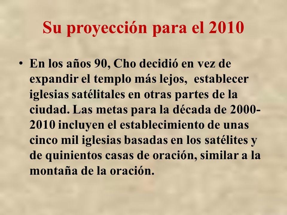Su proyección para el 2010