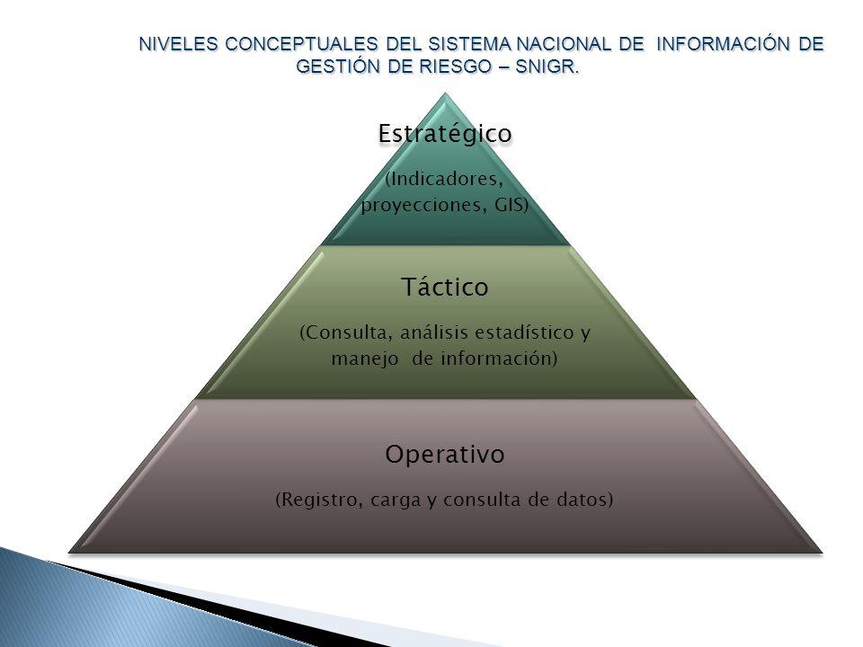 Estratégico Táctico Operativo