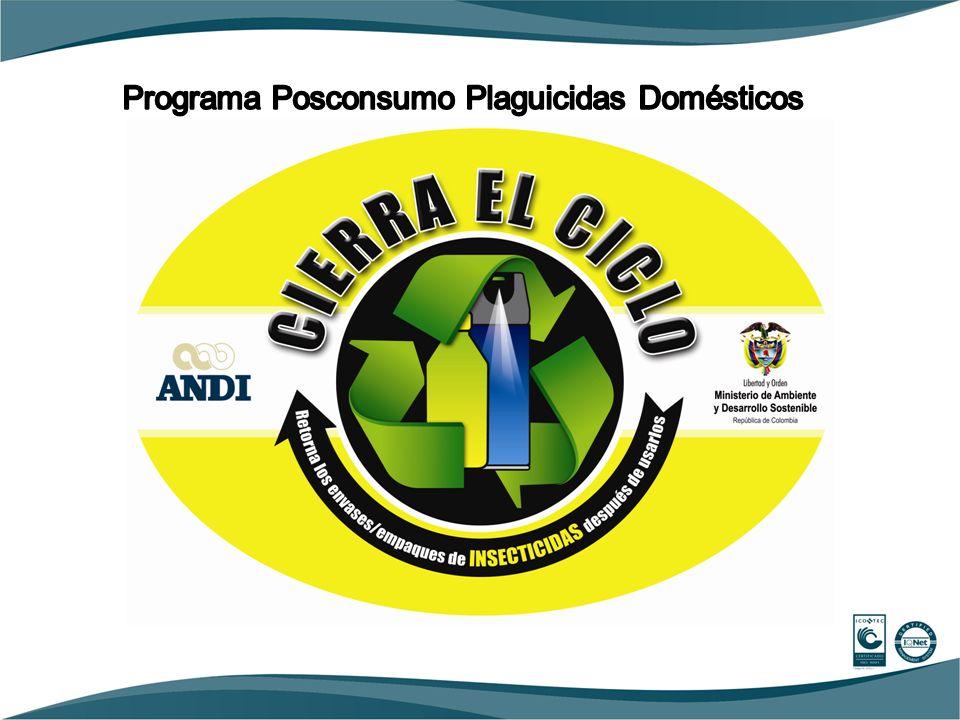 Programa Posconsumo Plaguicidas Domésticos