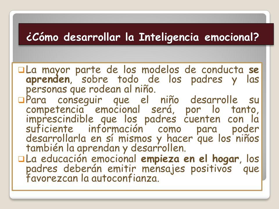 ¿Cómo desarrollar la Inteligencia emocional