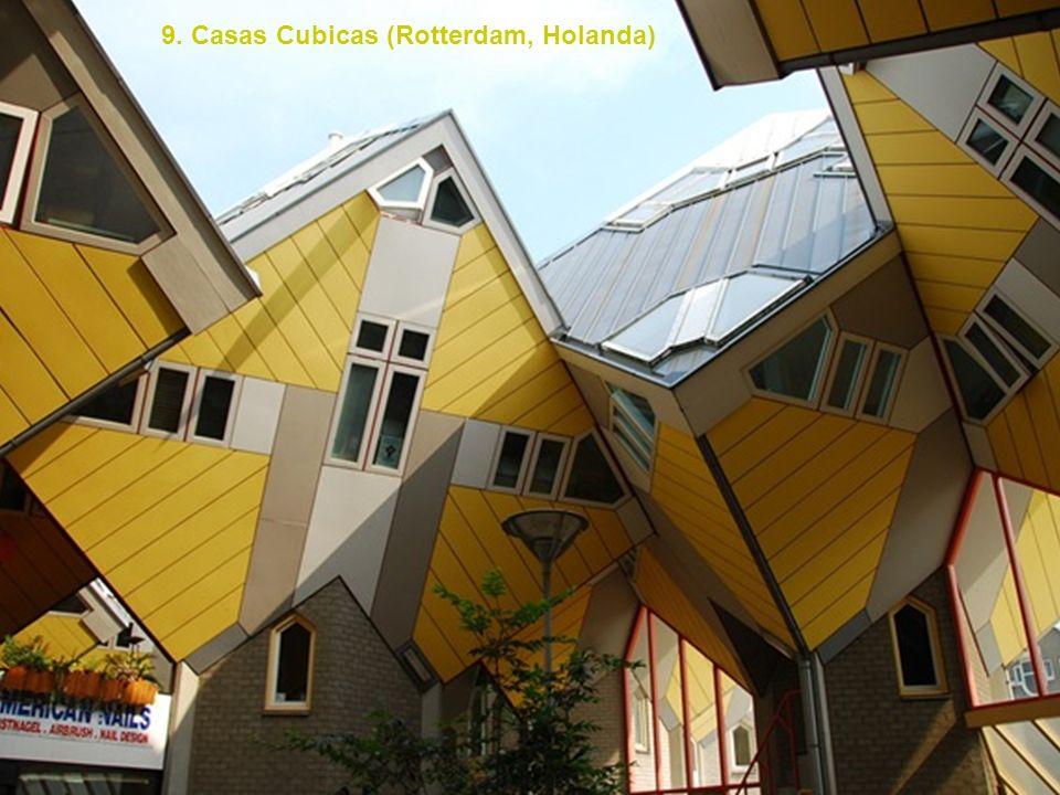 9. Casas Cubicas (Rotterdam, Holanda)