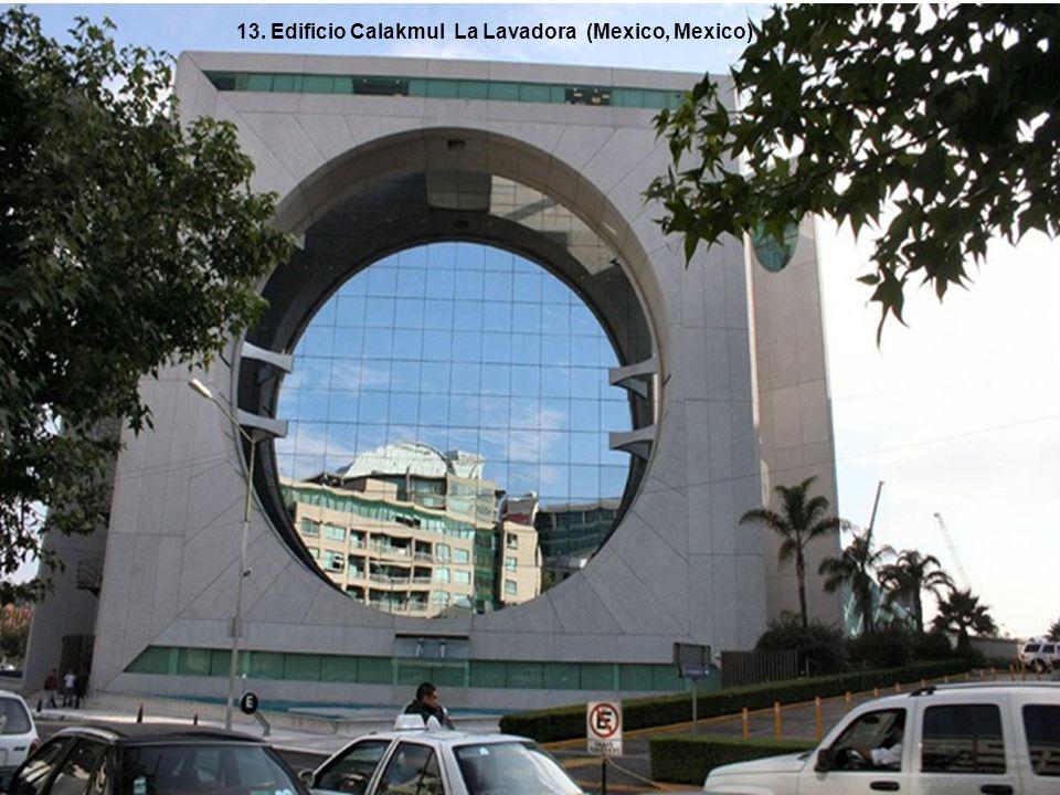 13. Edificio Calakmul La Lavadora (Mexico, Mexico)