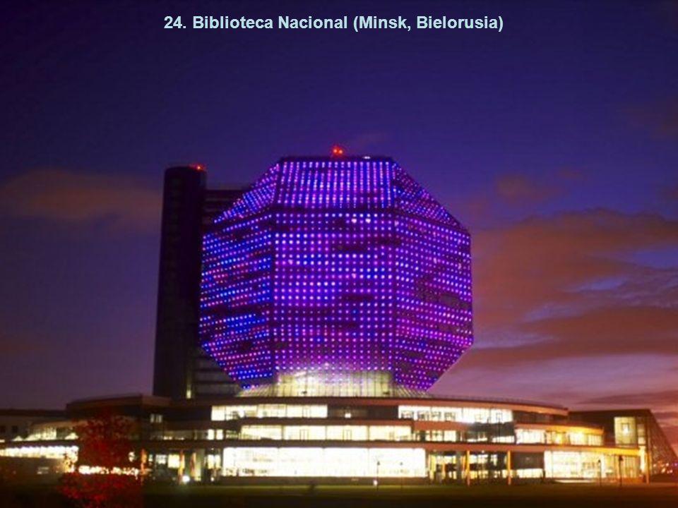 24. Biblioteca Nacional (Minsk, Bielorusia)