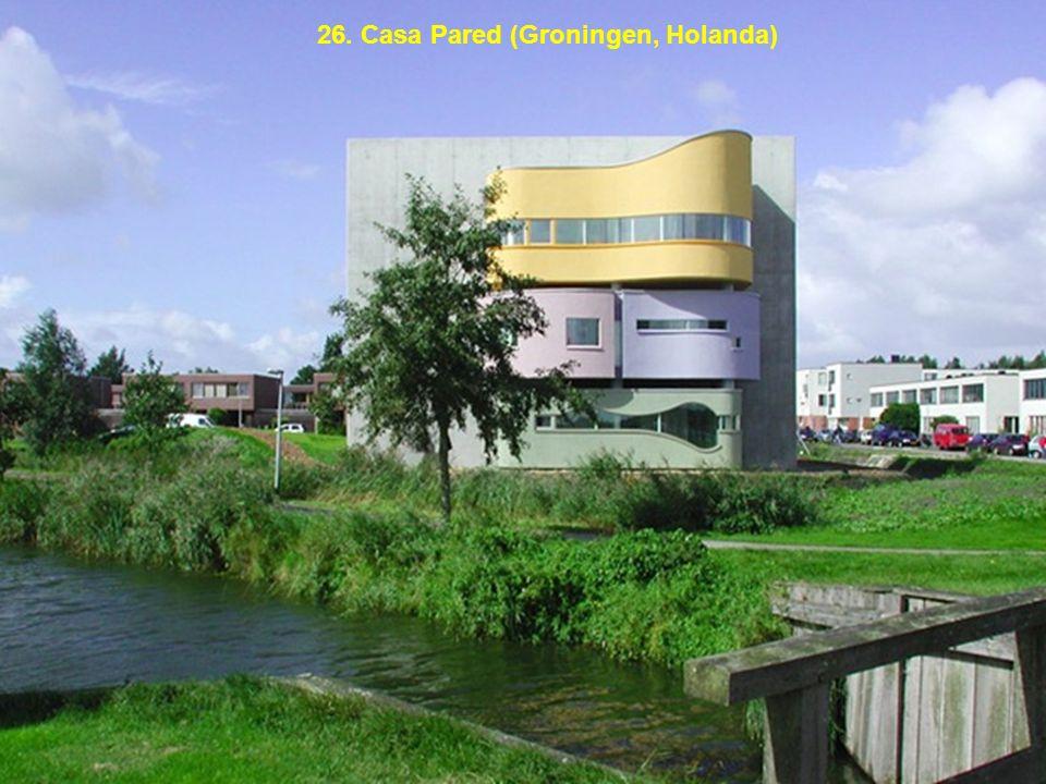 26. Casa Pared (Groningen, Holanda)