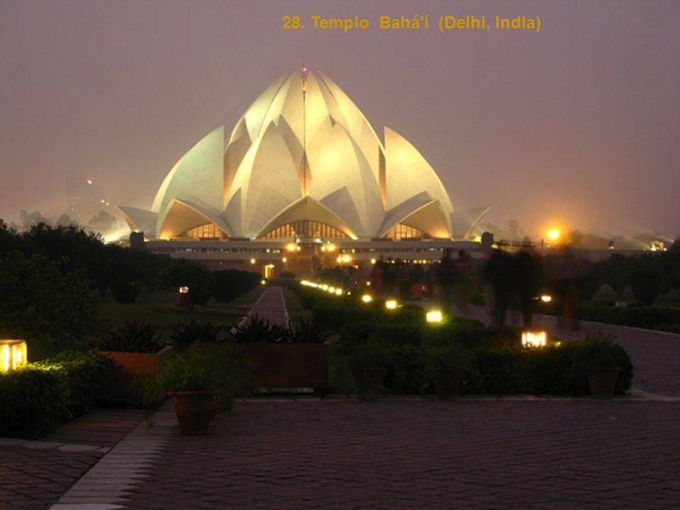 28. Templo Bahá í (Delhi, India)