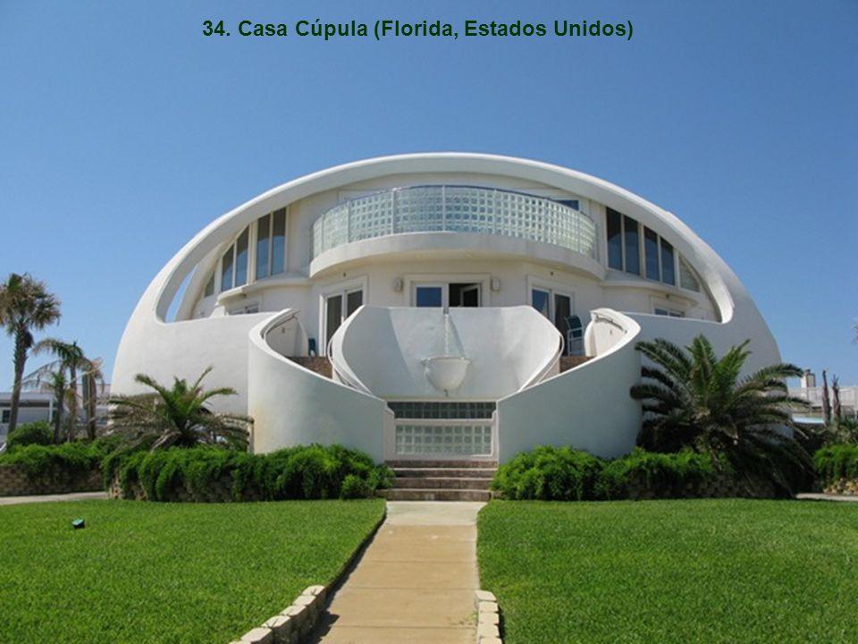 34. Casa Cúpula (Florida, Estados Unidos)