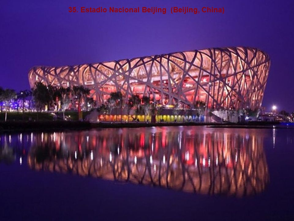 35. Estadio Nacional Beijing (Beijing, China)