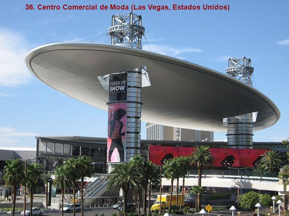 36. Centro Comercial de Moda (Las Vegas, Estados Unidos)