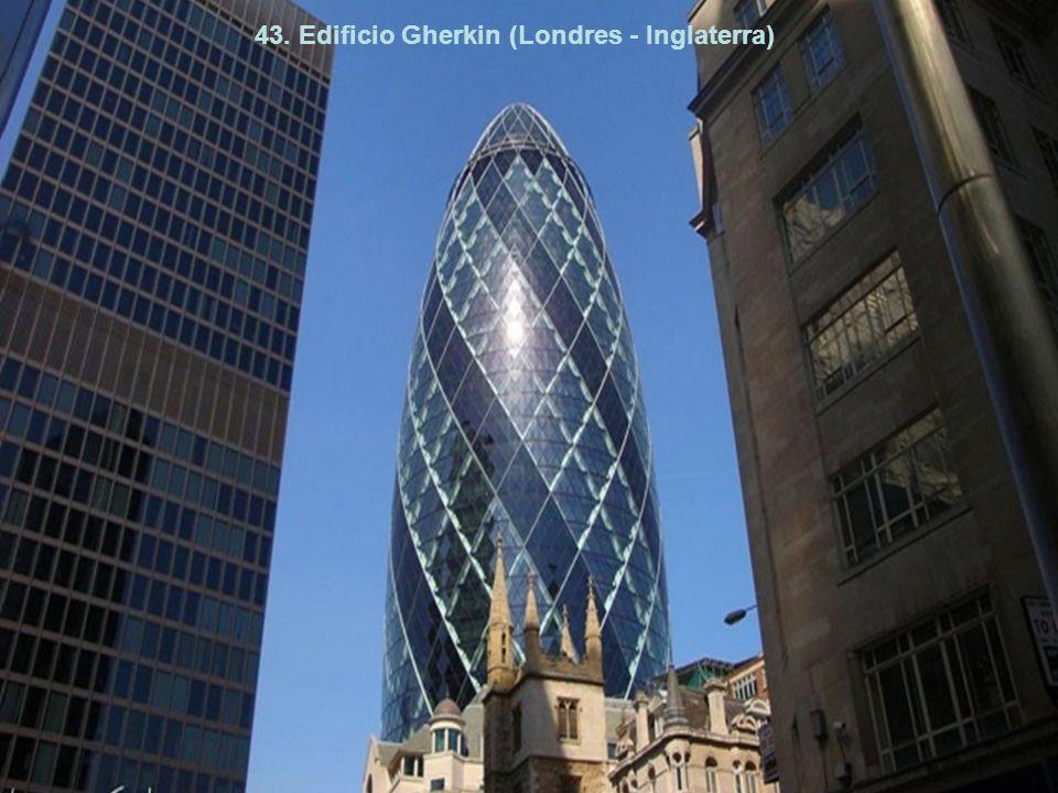 43. Edificio Gherkin (Londres - Inglaterra)