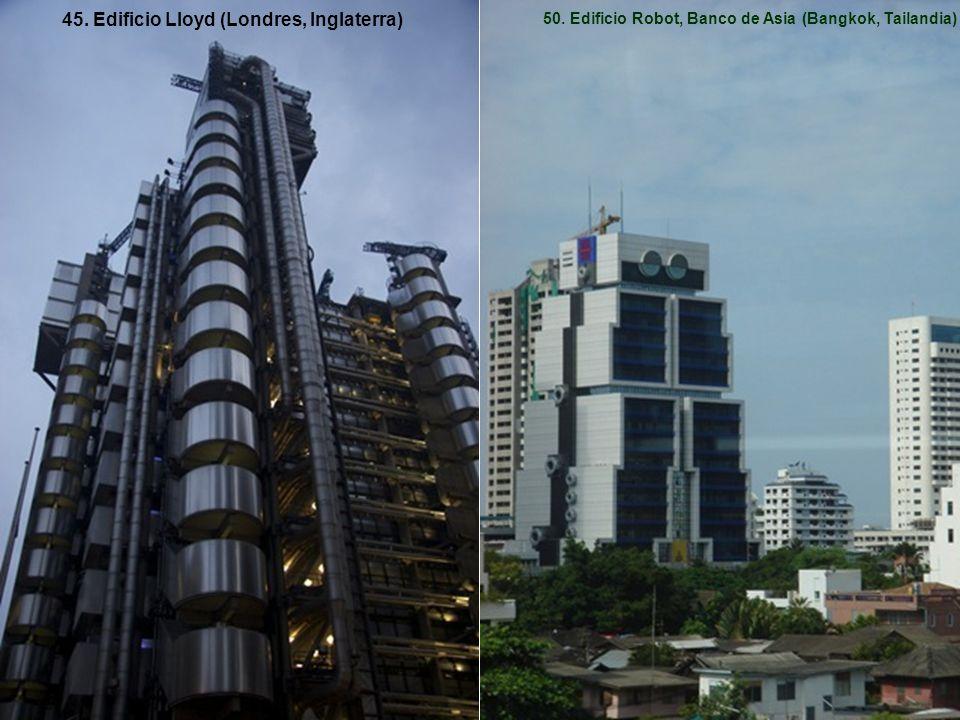 45. Edificio Lloyd (Londres, Inglaterra)