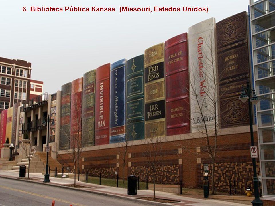6. Biblioteca Pública Kansas (Missouri, Estados Unidos)