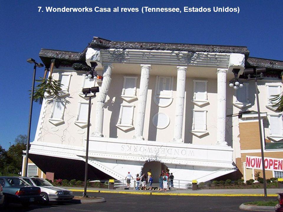 7. Wonderworks Casa al reves (Tennessee, Estados Unidos)