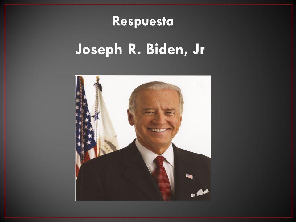 Respuesta Joseph R. Biden, Jr