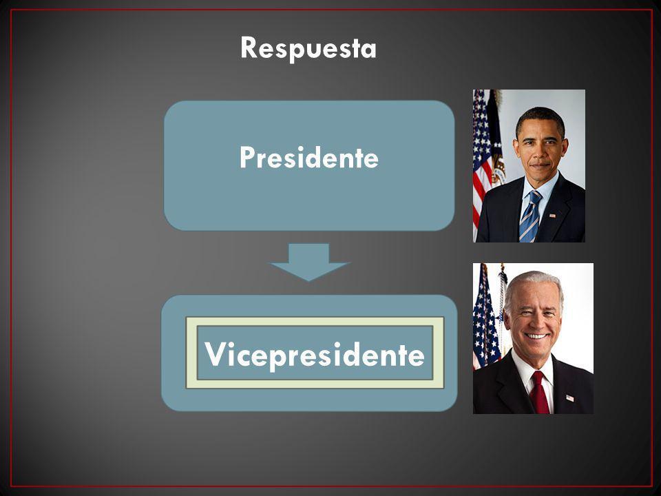 Respuesta Presidente Vicepresidente