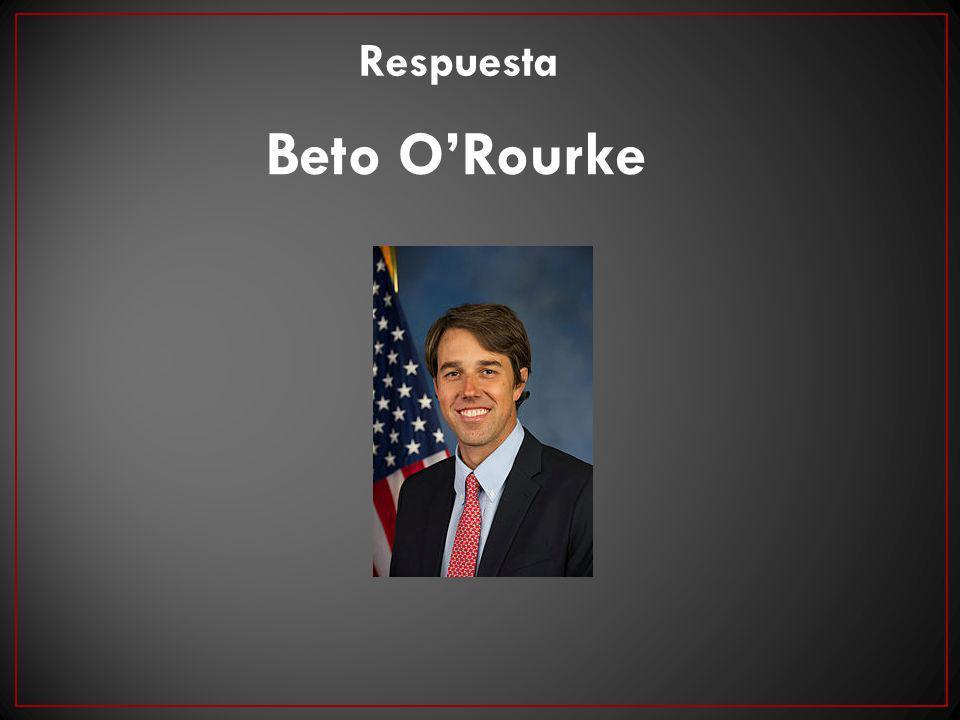Respuesta Beto O'Rourke