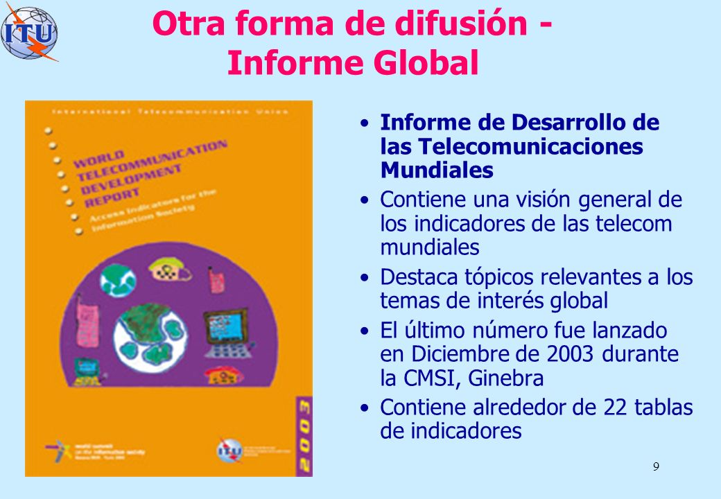 Otra forma de difusión - Informe Global
