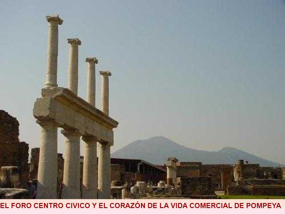 EL FORO CENTRO CIVICO Y EL CORAZÓN DE LA VIDA COMERCIAL DE POMPEYA